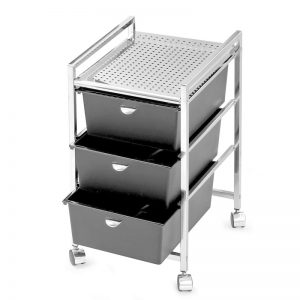 3-Drawer Metal Roller Cart Miami, FL