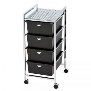 4-Drawer Metal Roller Cart Miami, FL
