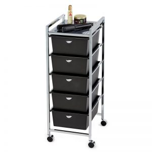 5-Drawer Metal Roller Cart Miami, FL